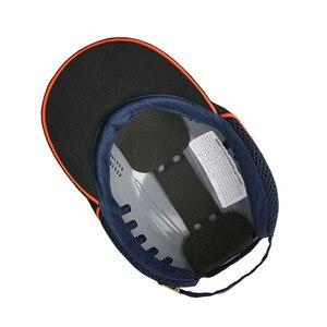 Image 2 - Mevsimlik nefes çalışma emniyet kaskı yumru şapka moda rahat güvenlik Anti darbe hafif kask güneş koruyucu koruyucu şapka