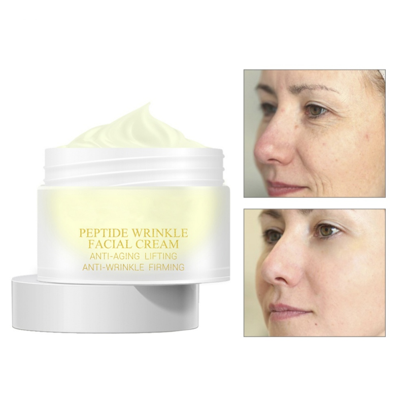 Peptide Anti Wrinkle Facial Cream Anti Aging Skin Whitening Lifting Firming Acne Treatment Hyaluronic Acid Snail Cream New
