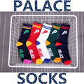 35-44 Palace Skateboards P Letter Socks Loop Towel Thick Fashion Men Street Dance Hottest Locking Poppin Punkin Jazz Raggae Lomo