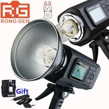 Godox Wistro AD600 TTL 600Ws GN87 HSS 1/8000S Flash Light w/ 2.4G X System 8700mAh Li-on Battery for Canon Nikon DSLR Cameras
