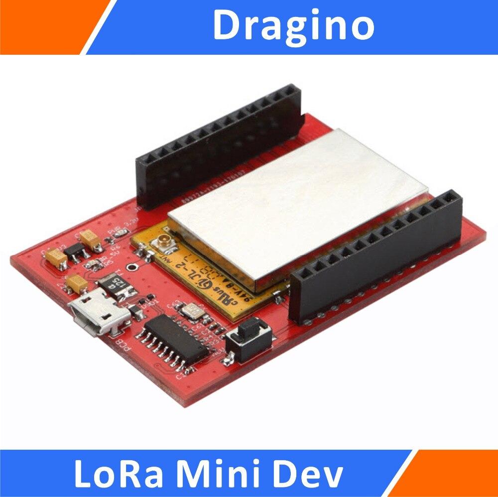 Dragino LoRa MINI IoT Development Board Compatible with 915 MHZ for Arduino prototype expansion board with mini breadboard for arduino works with official arduino boards
