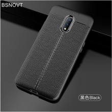 For OnePlus 7 Case Soft Silicone PU Leather Bumper Shockproof Anti-knock Phone Cover 1+7 BSNOVT