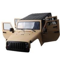 1:10 313mm Wheelbase Climbing Car Car Shell for RC Crawler Jeeps Cherokee Wrangle Axial SCX10