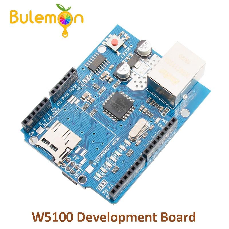 Ethernet W5100 Netzwerk Expansion Entwicklung Bord Lernen DIY SD Karte für Arduino