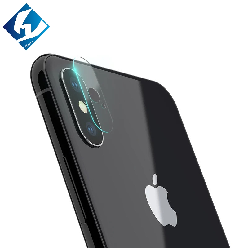100pcs/lot Lhoyern Camera Lens Protective Protector Cover For iPhone X 10 8 7 6 6S Plus 8 5 Tempered Glass Film 9H