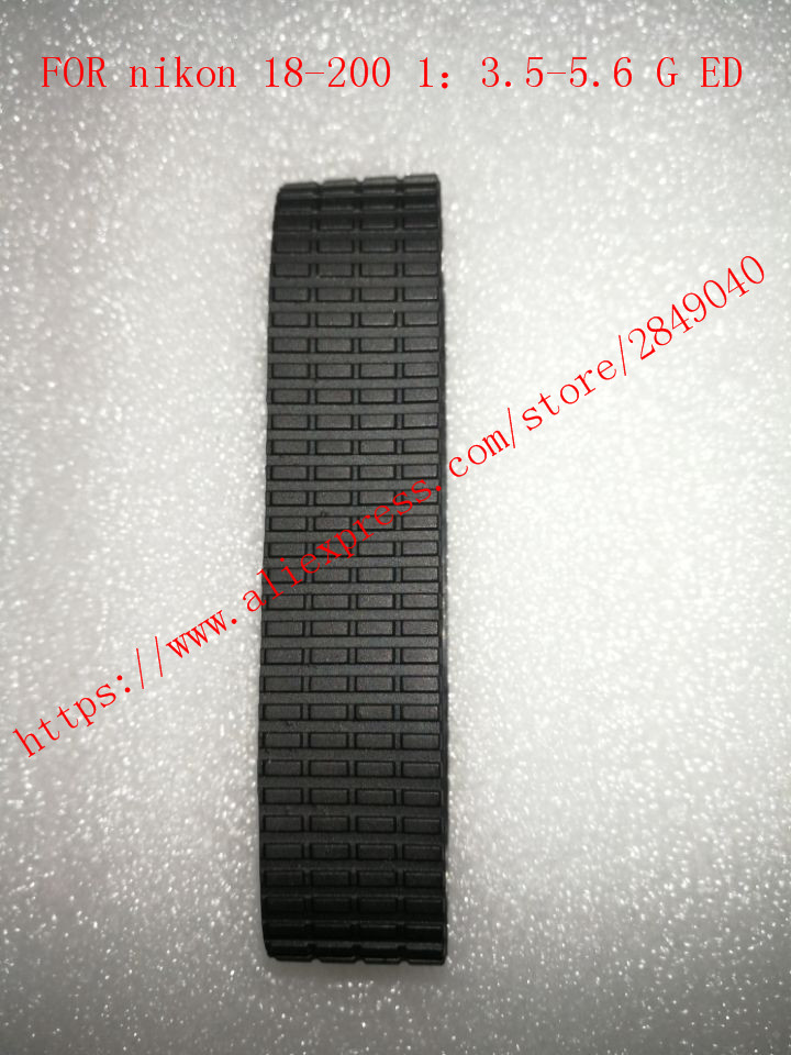 1 pcs/ Zoom Grip Rubber Ring Replacement For <font><b>Nikon</b></font> <font><b>18</b></font>-<font><b>200mm</b></font> ZOOM <font><b>18</b></font>-200 f3.5-5.6 G VR II Lens image