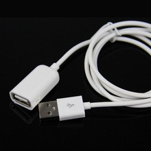 Extra-Cable Male-To-Female Extension Data-Extender Charge Usb-2.0 iPhone Samsung 1m 50cm