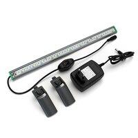1Pcs Waterproof Aquarium Fish Tank LED Light White Blue Lamp Clip on Waterproof Bar AC110 240V