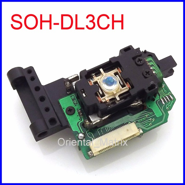 Original SOH-DL3CH SOH-DL3C SOH-DL3 Optical Pick-Up DVD Lens Laser Optical Pick Up Substituição