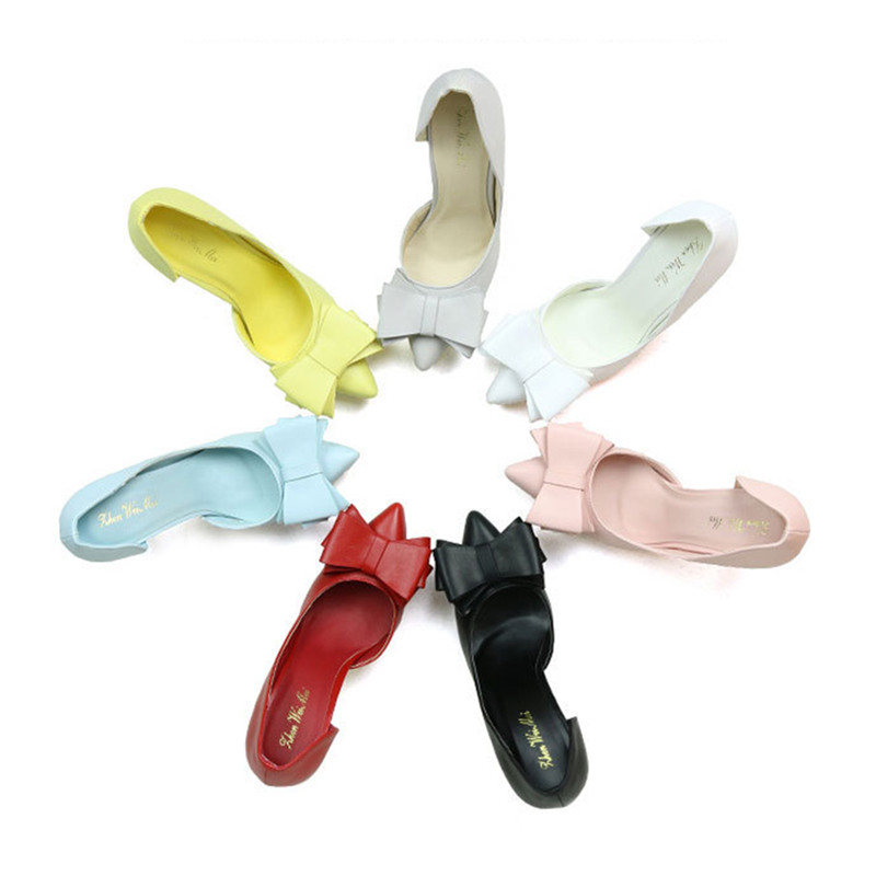Pumps Women Shoes Sexy Extreme High Heel Fashion Female Butterfly Sandals Office Ladies Shoes Party Red Heels Shoes for Woman