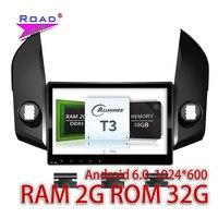 TOPNAVI 2G + 32 GB Android 6.0 10.1 Pouces Voiture PC GPS Navigation Pour Toyota RAV4 2009 2010 2011 2012 Lecteur Audio Double Din NO DVD