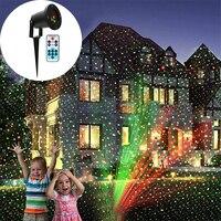 Christmas Outdoor Garden Decoration Landscape Laser Light Waterproof IP65 Moving Red&Green Star Laser Projector Shower Lighting