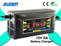 Suoer Solar Charger 6A 12V Car Battery Charger (SON-1206D)