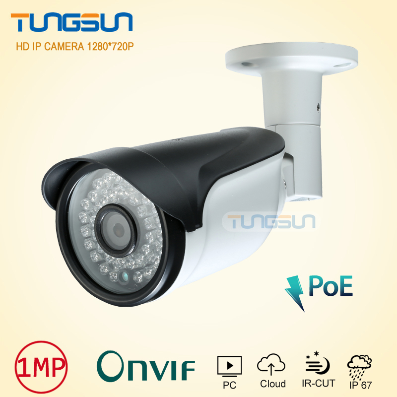 New 720P 960P POE Surveillance Camera Security CCTV 36leds infrared Bullet Metal Waterproof Outdoor Onvif Network IP Camera wistino cctv camera metal housing outdoor use waterproof bullet casing for ip camera hot sale white color cover case