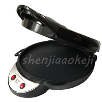 35CM electric double sided home heating pancake pan cake machine pancake machine waffle machinefried machine 220V 1350W|machine pancake|machine waffle|machine machine -