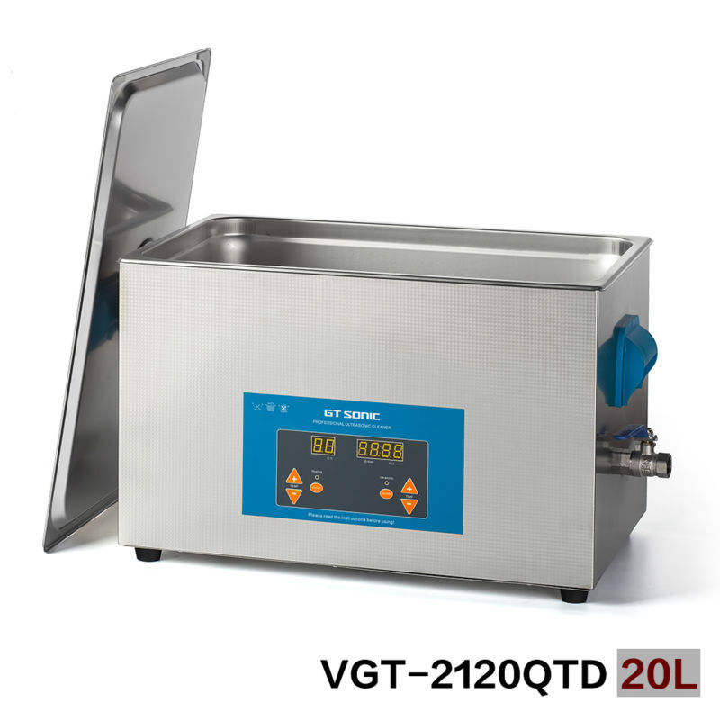 GT SONIC PC board ultrasonic cleaners 20L FOR spare parts ultrasonic bath cleaning China ...