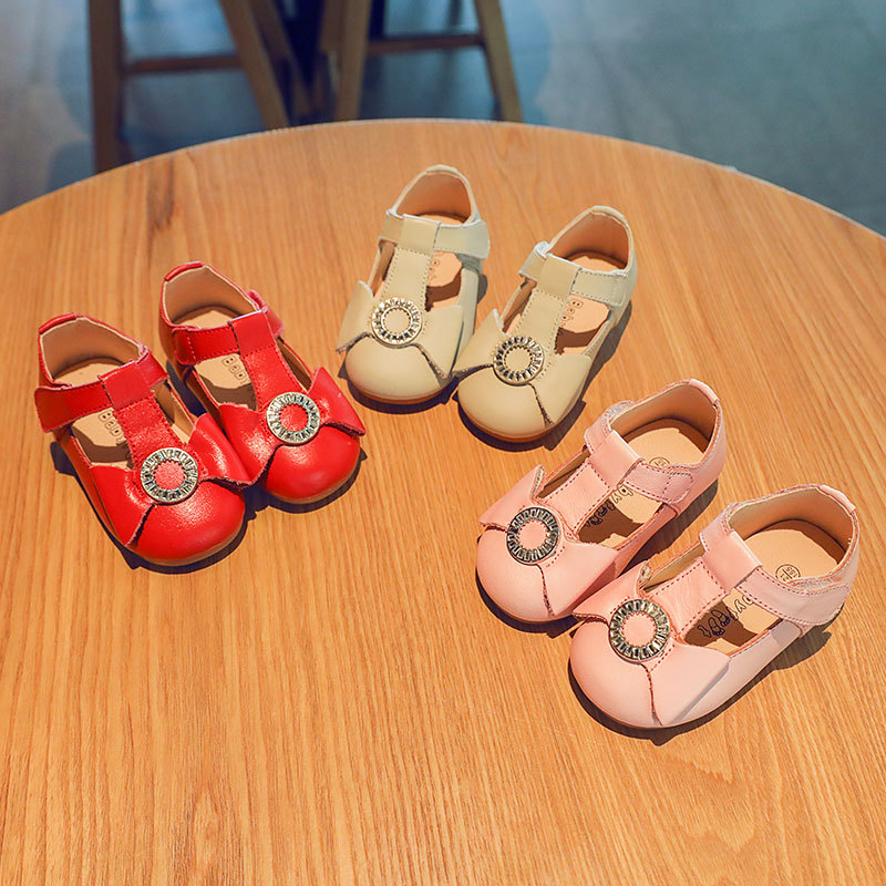 Baby First Walkers Baby Shoes Genuine Leather Princess Shoes Fashion Toddler Shoes