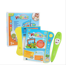 Multifunction Children touch screen  English  Reading Book basic knowledge learn book with Reading Pen все цены
