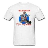 IRON MAIDEN Chicago Mutants T Shirt Men And Women Heavy Metal Rock Tee Big Size S