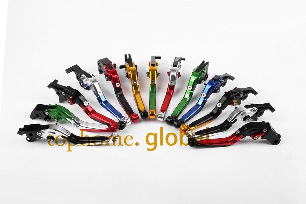 Аксессуары для мотоциклов ЧПУ складной и расширения сцепные рычаги для Kawasaki ZX7R/ZX7RR 1996-2003 1997 1998 1999 2000 2001
