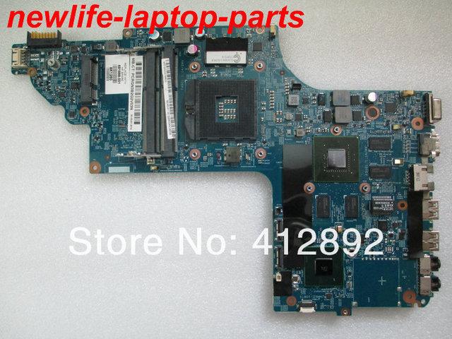 Original para hp dv7-7000 series motherboard 681999-001 11254-3 48.4st04.031 ddr3 maiboard 100% teste rápido navio