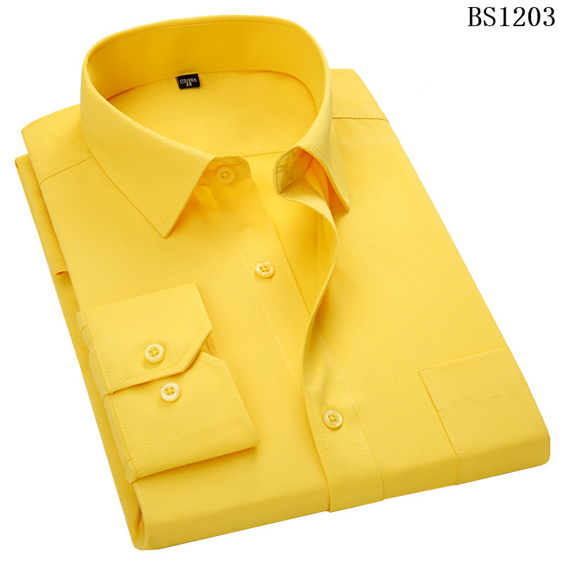 HTB1PF4OWcbpK1RjSZFyq6x qFXaf - Plus Large Size 8XL 7XL 6XL 5XL 4XL Mens Business Casual Long Sleeved Shirt