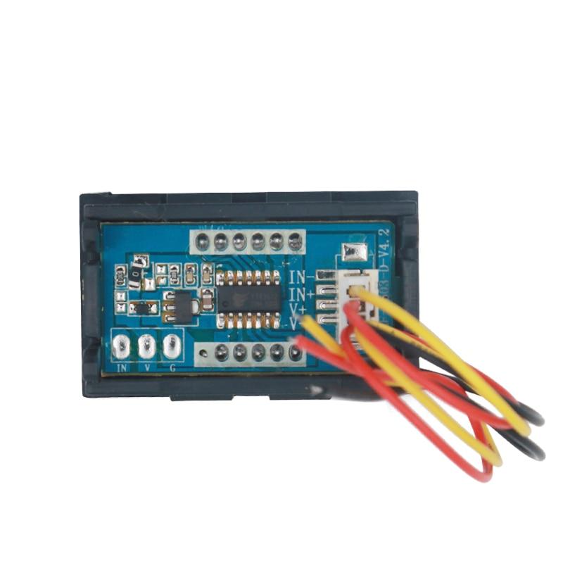 DC 100 V voltmeetri ampermeeter Punane LED-võimendi digitaalse - Mõõtevahendid - Foto 3