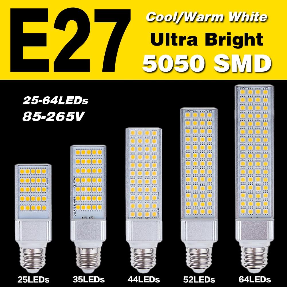 Cheap COB LED Bulb 13W 11W 9W 7W 5W E27 LED light lamp Corn bulbs White AC85-265V lampada led 220v lampada led e27 110v 7w led bulb light e26 e27 g24 g23 e14 7w led corn light corn bulb lamp cob led corn light with aluminum shell 85 265v