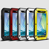 Love Mei Armor Case Waterproof Cover For Samsung Galaxy A3 A310 A5 A7 A8 A9 Alpha