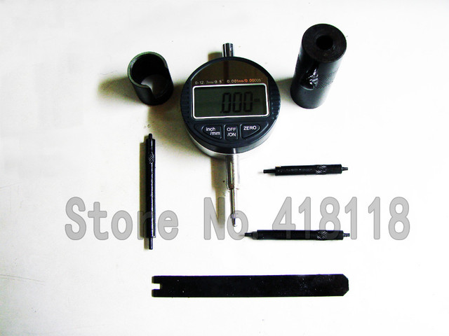 Common Rail Diesel Injector Valve Measuring Gauge Set
