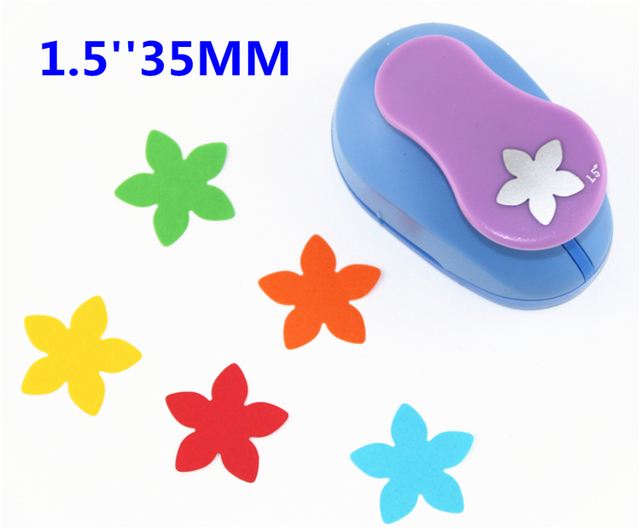 Free Ship Flower 15 35mm Scrapbooking Punches Hole Punch
