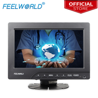 Feelworld FW669AHT 7 Inch 800x480 TFT LCD Touchscreen Monitor with HDMI VGA Video Audio Inputs Bracket 7 1080P LCD Monitors