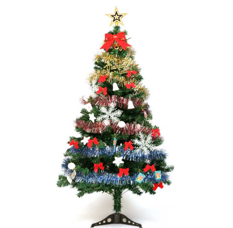 Lighting Of Christmas Tree 2014: 1.5Mx0.7M Artificial Merry Christmas Trees New Year
