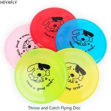 Эластичный пластиковый мультяшный летающий диск для детей или взрослых, для спорта на открытом воздухе, для пляжа, летающая тарелка, НЛО