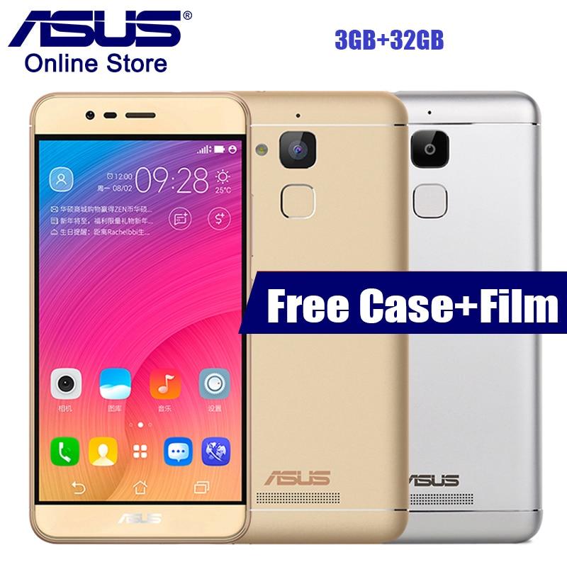 ASUS Zenfone Pegasus 3 X008 3GB 32GB CPU MT6737 Smartphone Quad Core Android 6.0 5.2'' Fingerprint ID FDD 4100mAh Mobile Phones