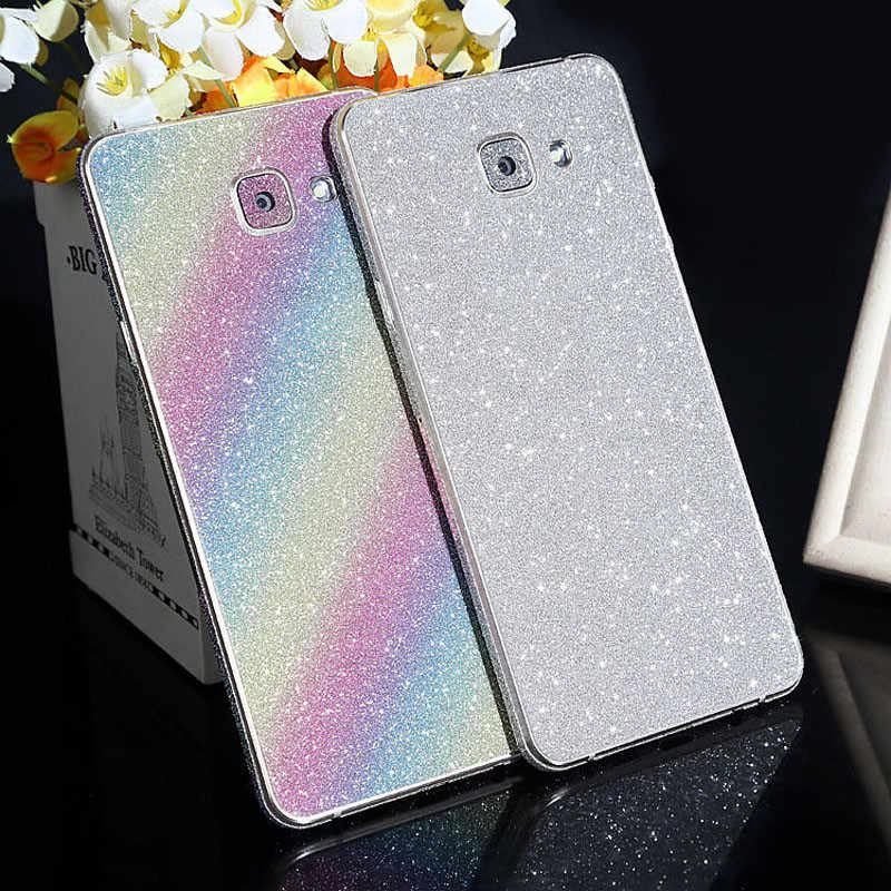 ... For Samsung Galaxy S8 Case Glitter Full Body Decal Sticker for Samsung  Galaxy S8 Plus S7 ... 38991985dda6