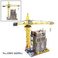 В наличии H & HXY 15031 4425 шт. натуральная MOC серии классический строительной площадки строительные блоки кирпичи Лепин игрушечные модели, подарк