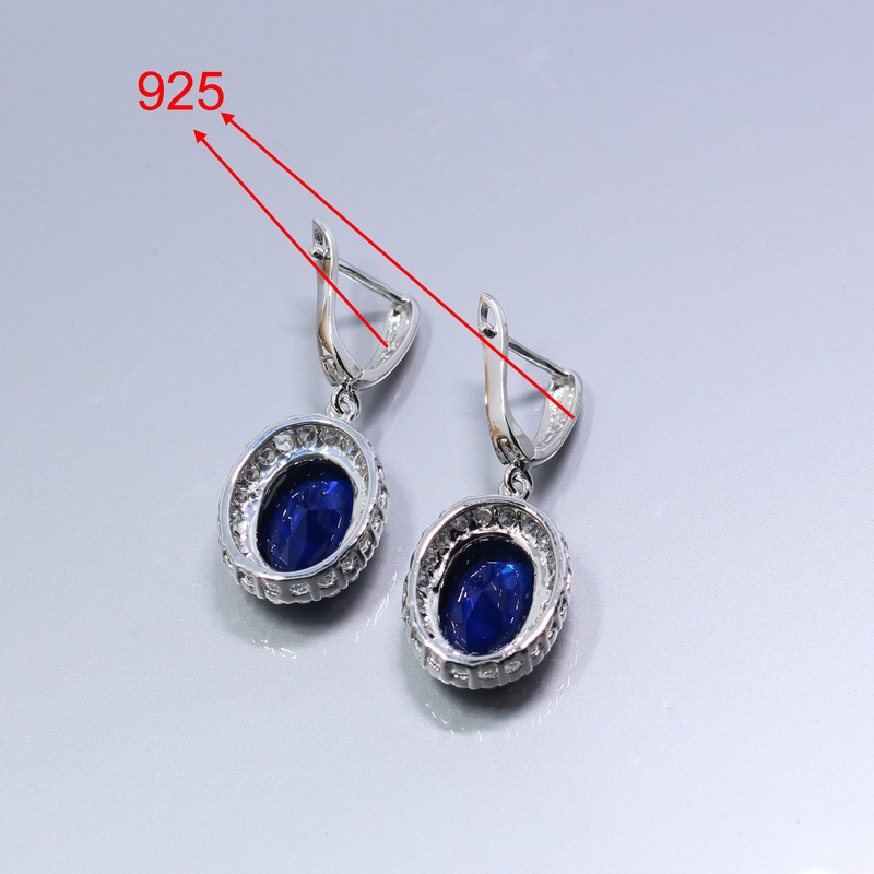 Manny 925 Sterling Silver 4PCS Women Jewelry Set