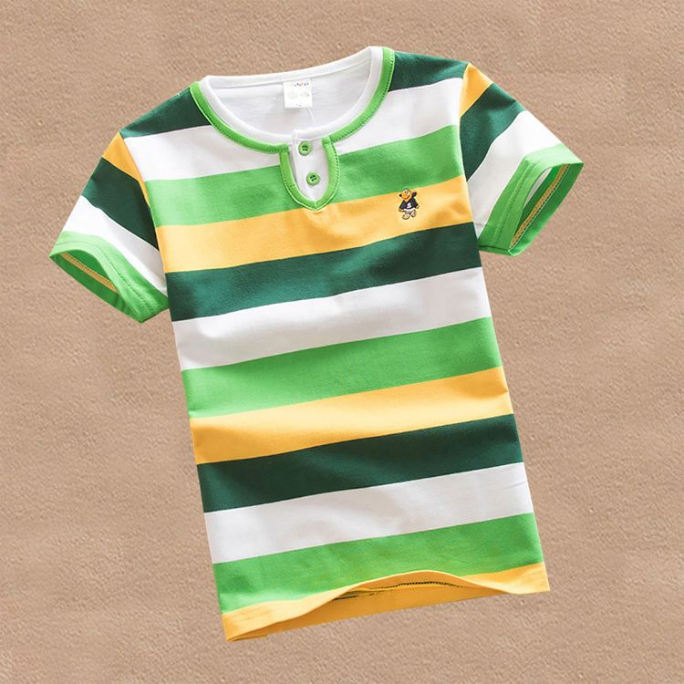 High quality breathable boys t shirt name brand children for T shirt brand name list