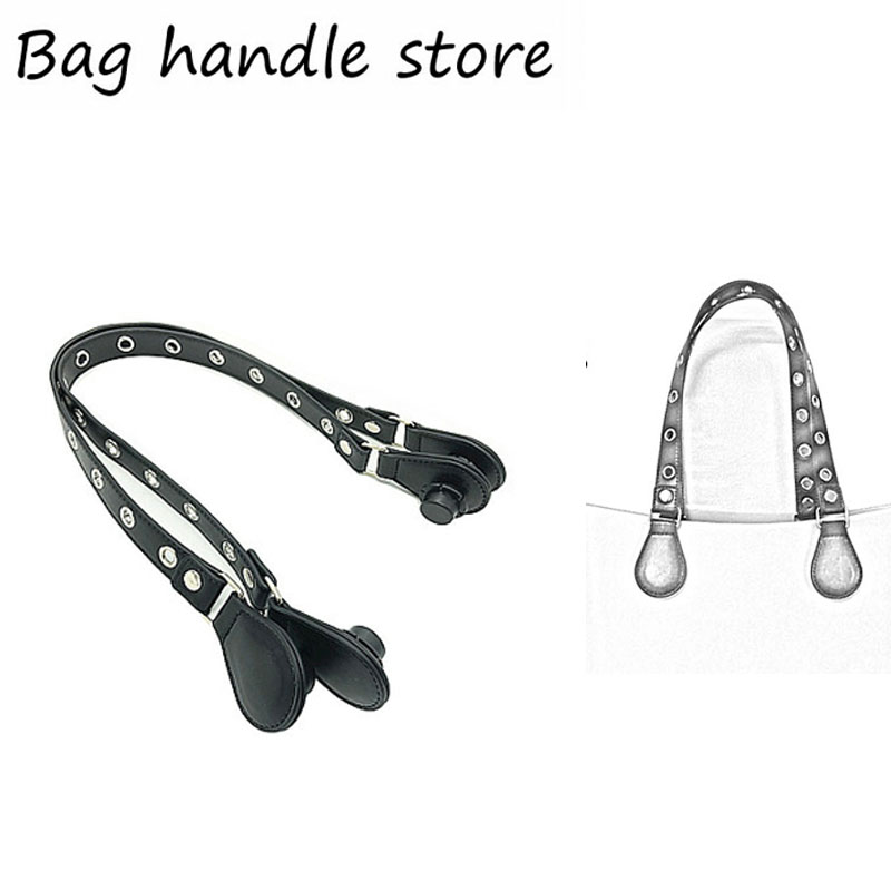 1 pair 70 cm new handle black for obag 1 pair new black flame l