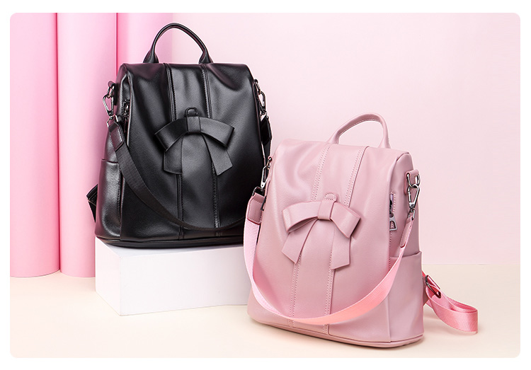 HTB1PF6MUQvoK1RjSZFDq6xY3pXa0 - Leisure Women Backpack High Quality Leather Lady Anti Theft Shoulder Bags Lovely Girls School Bags Women Traveling Backpack