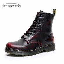 2017 bottes d'hiver de neige usine-chaussures noir blanc rouge bottes d'hiver pour les femmes avec fourrure Imperméable bottes grandes chaussures femme taille 10