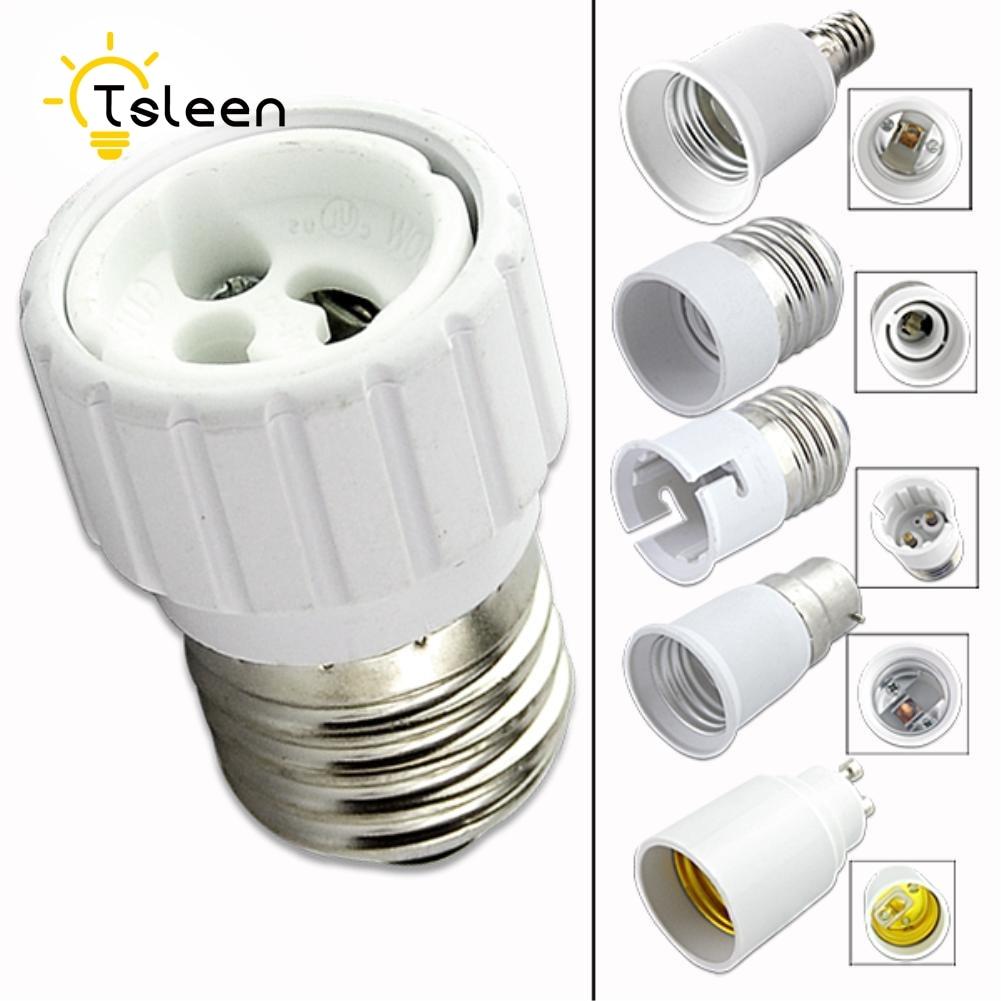Lights & Lighting Lighting Accessories Led Lamp Bulb Base Conversion Holder Converter Socket Adapter Gu10 B22 E27 E14 Anti-burning Material For Home Light&lighitng