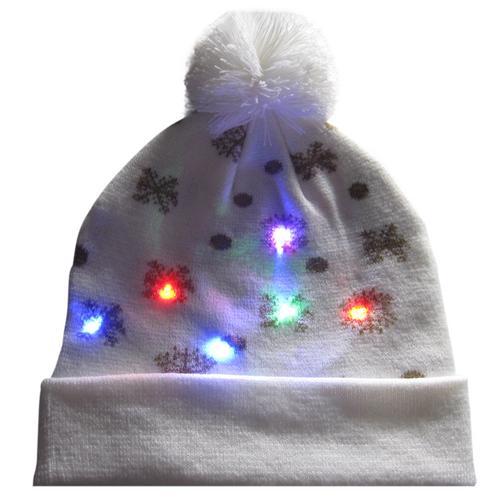 Г., 43 дизайна, светодиодный Рождественский головной убор, Шапка-бини, Рождественский Санта-светильник, вязаная шапка для детей и взрослых, для рождественской вечеринки - Цвет: 11