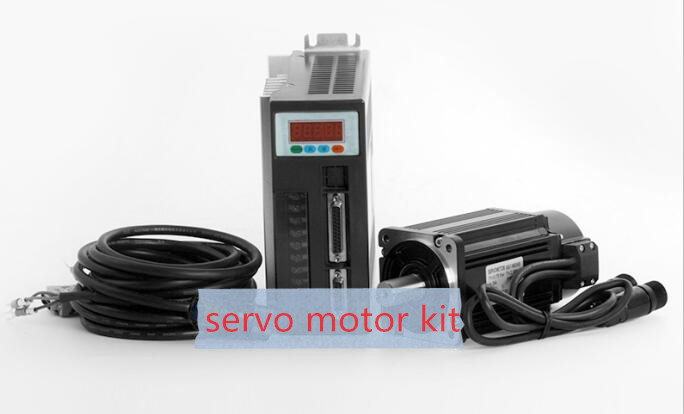 400W Servo motor set 60ST-M01330 ac servo drive and motor permanent magnet synchronous motor new leadshine ac servo drive l5 400 and ac servo motor 400w acm6004l2h b encoder 2500 line work at 220vac run 3000rpm out 1 27nm
