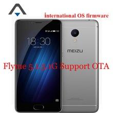 "Original meizu m3s mini 4g lte teléfono móvil 5.0 ""2.5D Vidrio MT6750 Octa Core 3 GB RAM 32 GB ROM 13.0MP 3020 mAh GPS IDENTIFICACIÓN de Huellas Dactilares"