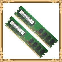 Desktop memory For Hynix 4GB 2x2GB PC2-6400 DDR2 800MHz PC RAM 800 2G 4G 240-pin Free shipping