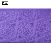 ACI Purple Color Bazin Riche 2018 African Fabric 10 Yards/Piece Polyester Shining African Clothing Damask Guinea Brocade Fabric