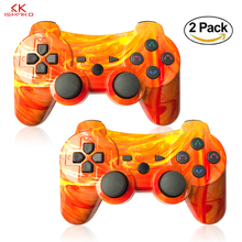 Newest Wireless Bluetooth Game controller for PS3 Controller Dual Shock Vibration Joystick Gamepad for PlayStation 3 original 3 colorful wireless bluetooth game controller for sony playstation 3 for ps3 controle joystick gamepad christmas