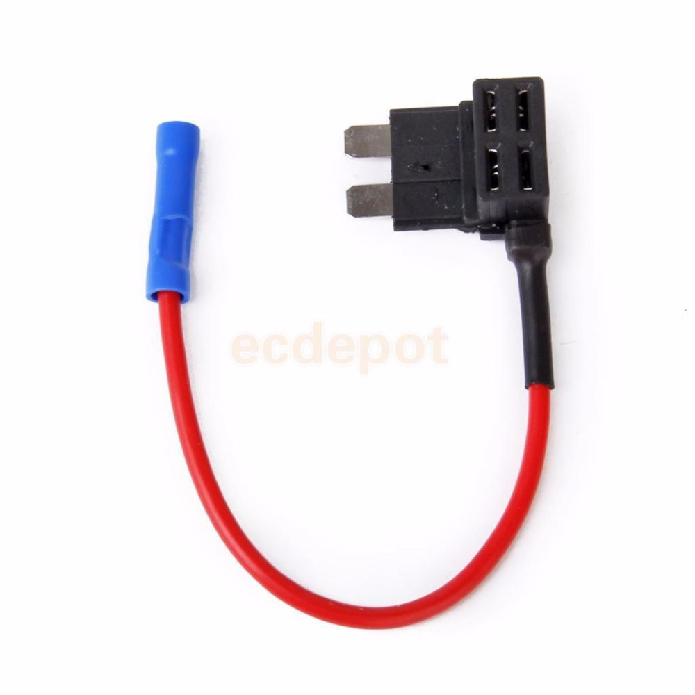 5pcs 12v 30a Add A Circuit Standard Atm Apm Mini Low Profile Blade Style Fuse Holder Tap Splash Proof Fuses For Car Truck Auto In From Automobiles